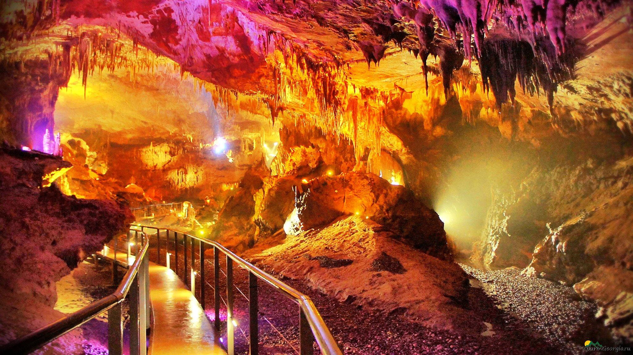 пещера грузия