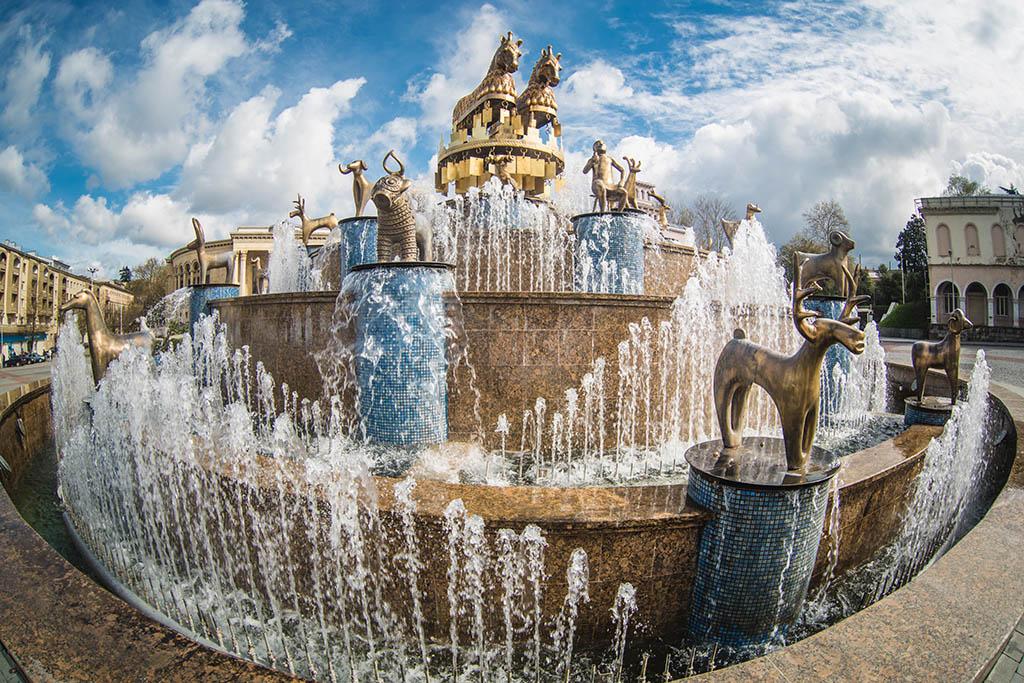 фонтан кутаиси