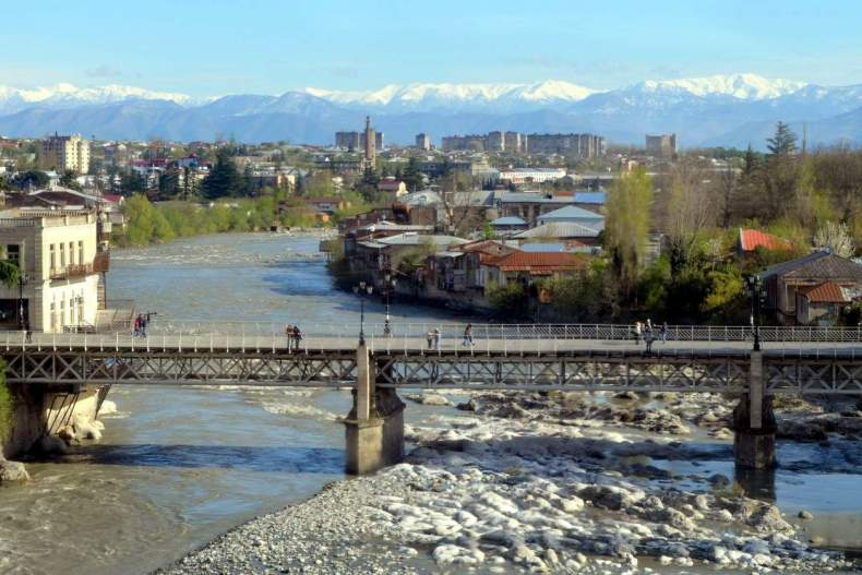 мосты грузии